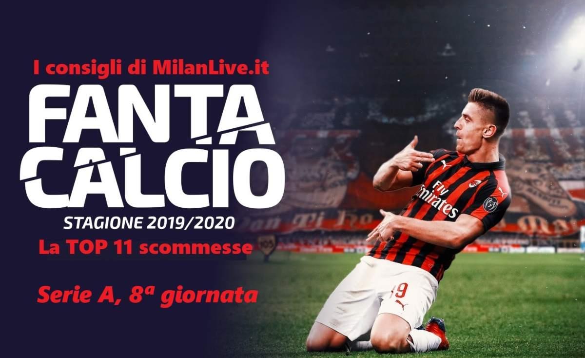 Consigli Fantacalcio MilanLive.it Serie A giornata 8
