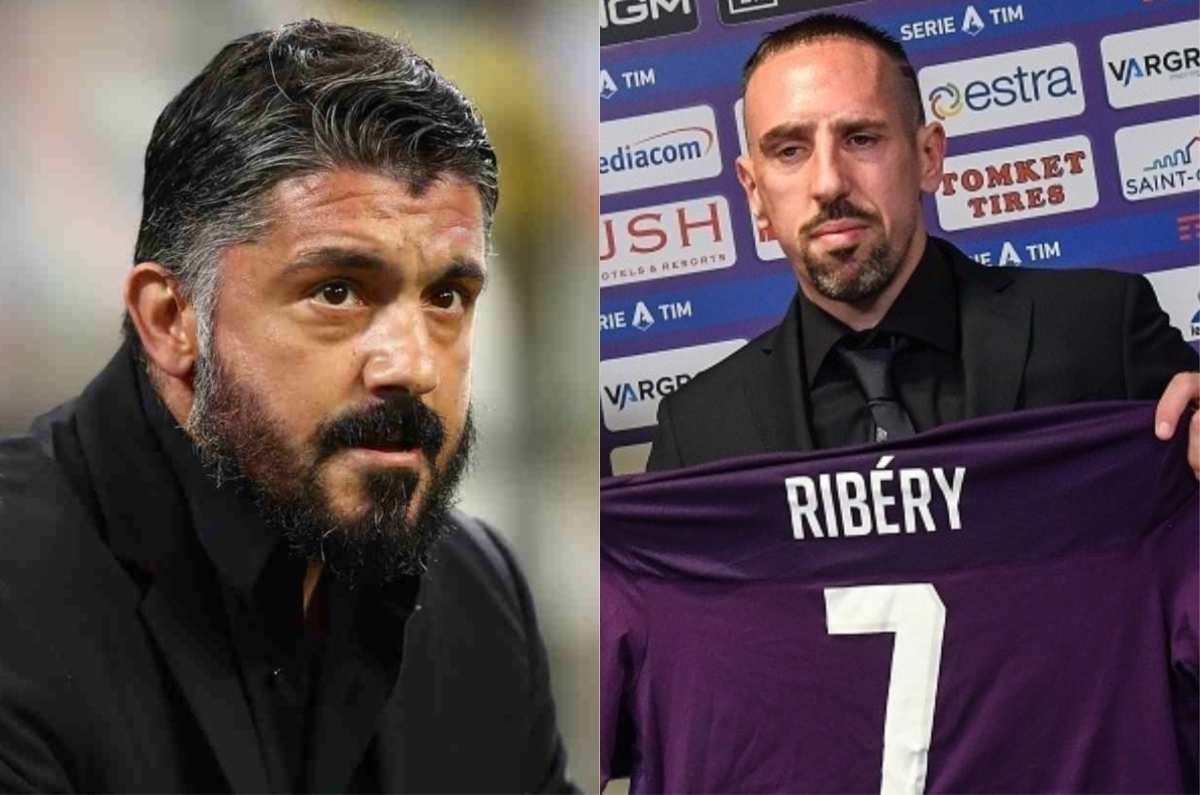 Gennaro Gattuso Frank Ribery