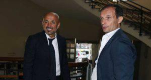 Luciano Spalletti e Massimiliano Allegri
