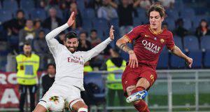 Roma-Milan Zaniolo Musacchio