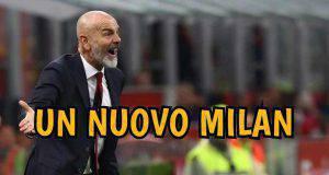 Milan Stefano Pioli cambia modulo