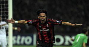 Filippo Inzaghi Milan-Real Madrid
