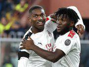 Franck Kessie e Rafael Leao AC Milan