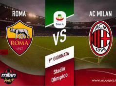 Roma Milan diretta live