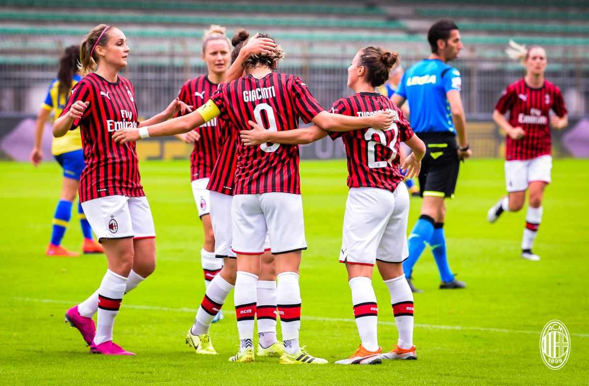 Serie A femminile, Milan-Tavagnacco