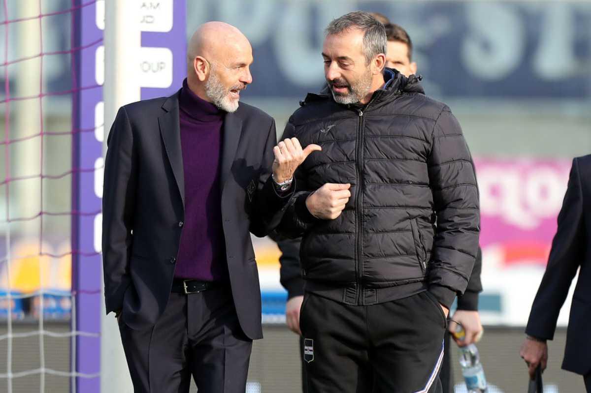 Stefano Pioli Marco Giampaolo