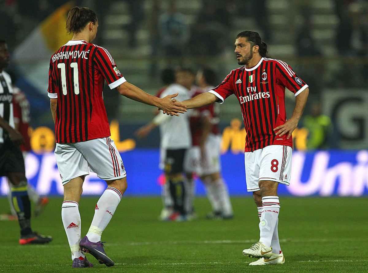 Zlatan Ibrahimovic Gennaro Rino Gattuso