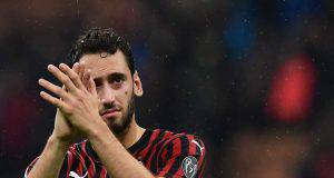 Hakan Calhanoglu Milan