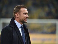 shevchenko esulta ucraina a Euro2020