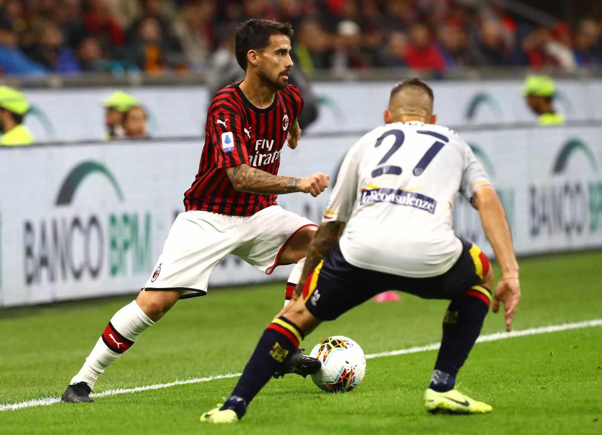 Milan: contestazione dei tifosi contro Suso con tanto di hashtag