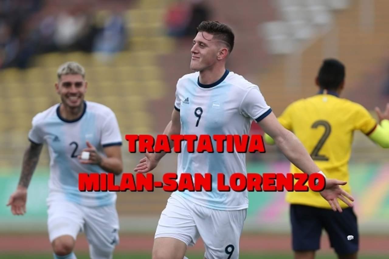 Adolfo Gaich offerta Milan