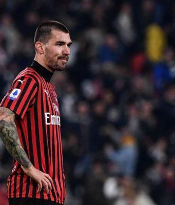 Alessio Romagnoli Juventus-Milan