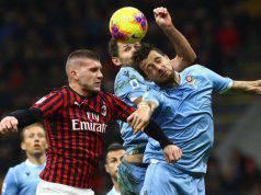 Ante Rebic Francesco Acerbi Milan-Lazio