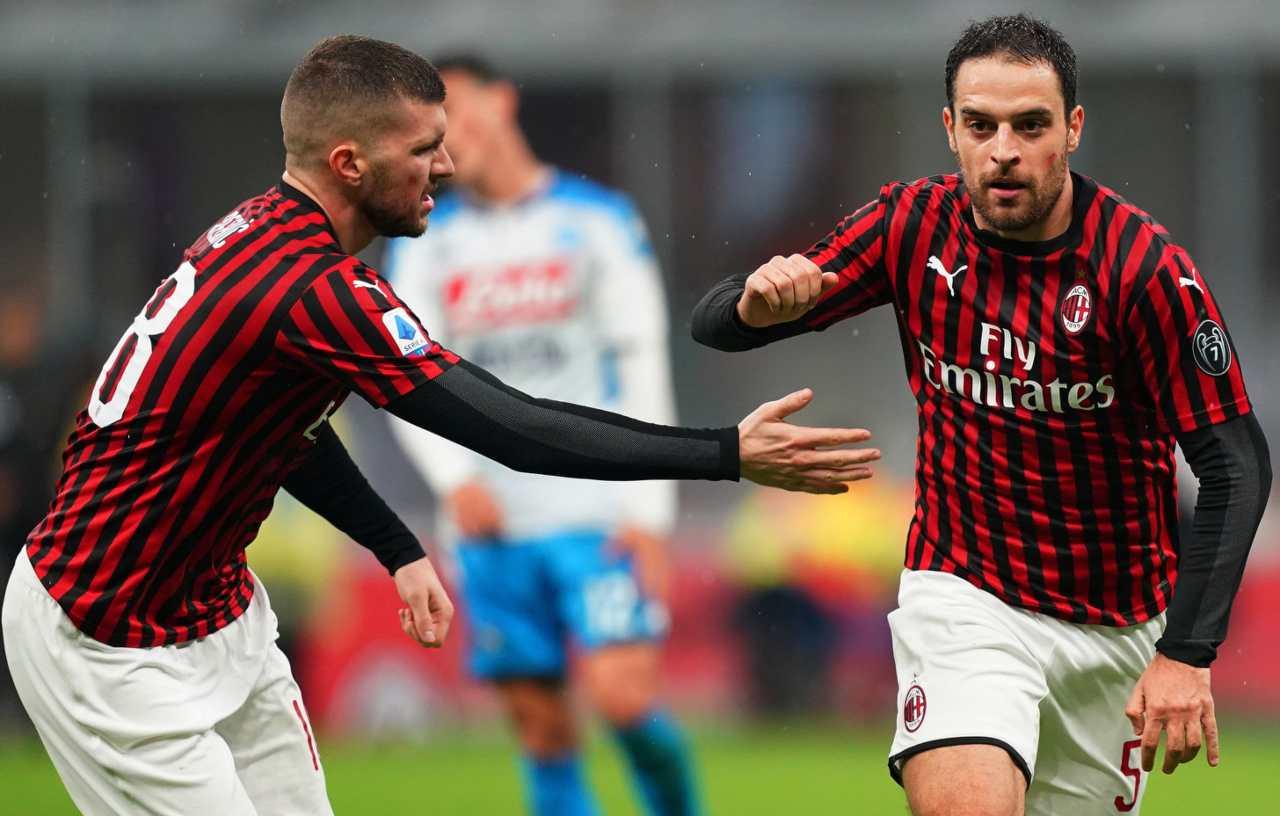 Giacomo Bonaventura Ante Rebic Milan Napoli