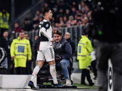 Ronaldo in Juve-Milan