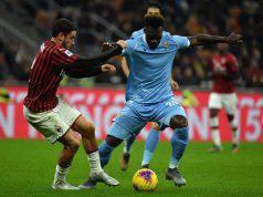 Davide Calabria Felipe Caicedo Milan-Lazio