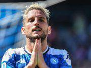 Dries Mertens infortunio Belgio