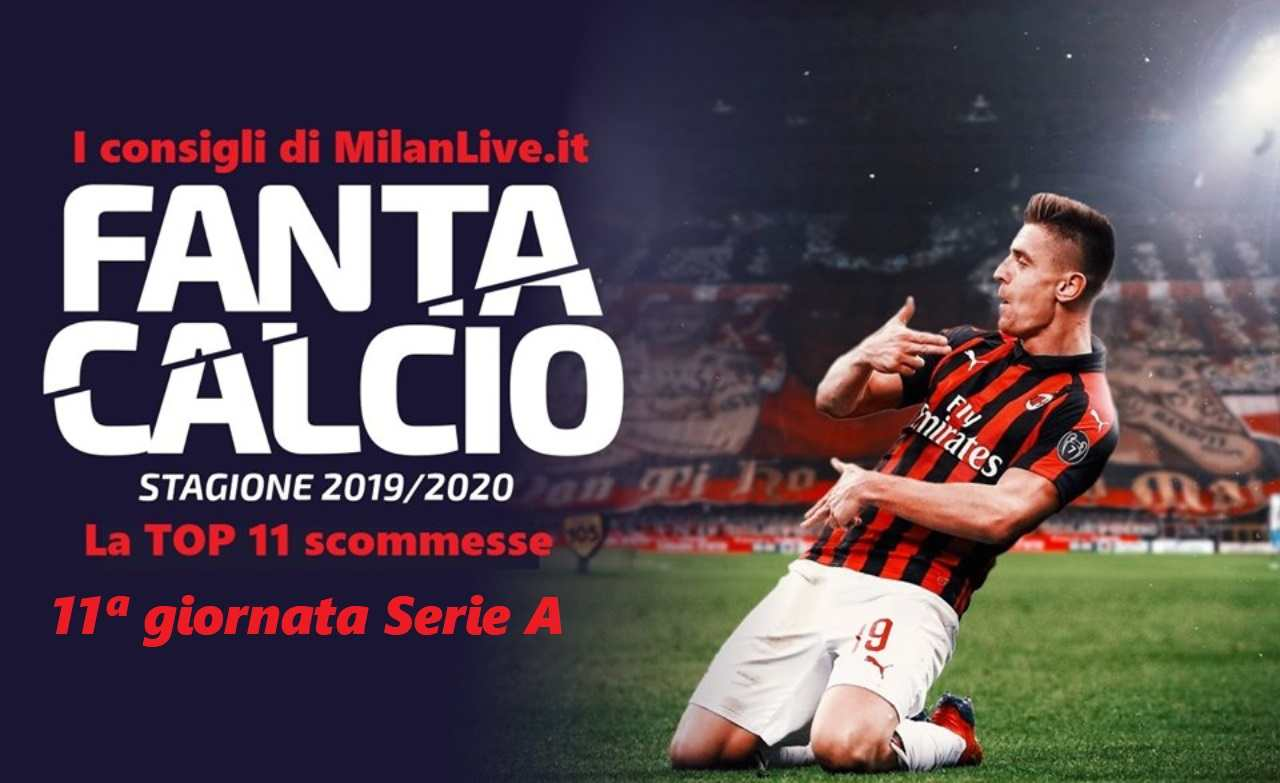 Consigli Fantacalcio MilanLive 11.a giornata Serie A 2019/2020