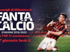 Consigli Fantacalcio MilanLive 12.a giornata Serie A