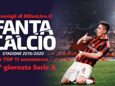 Consigli Fantacalcio MilanLive 13.a giornata Serie A