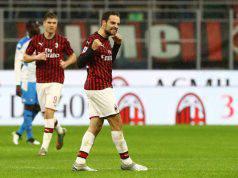 Gol Milan-Napoli Giacomo Bonaventura