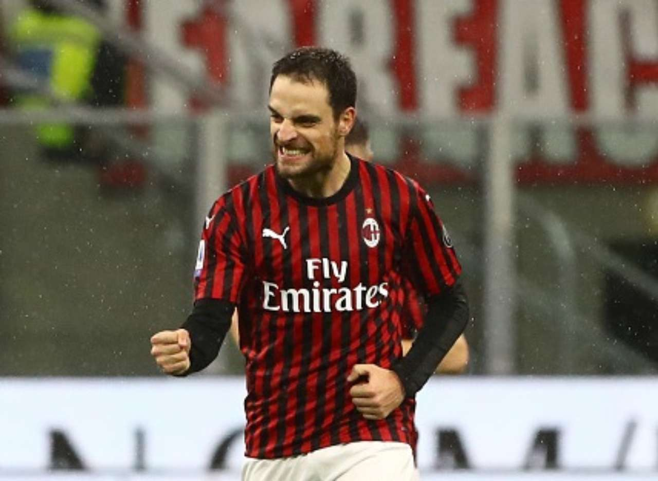 Giacomo Bonaventura gol Milan-Napoli