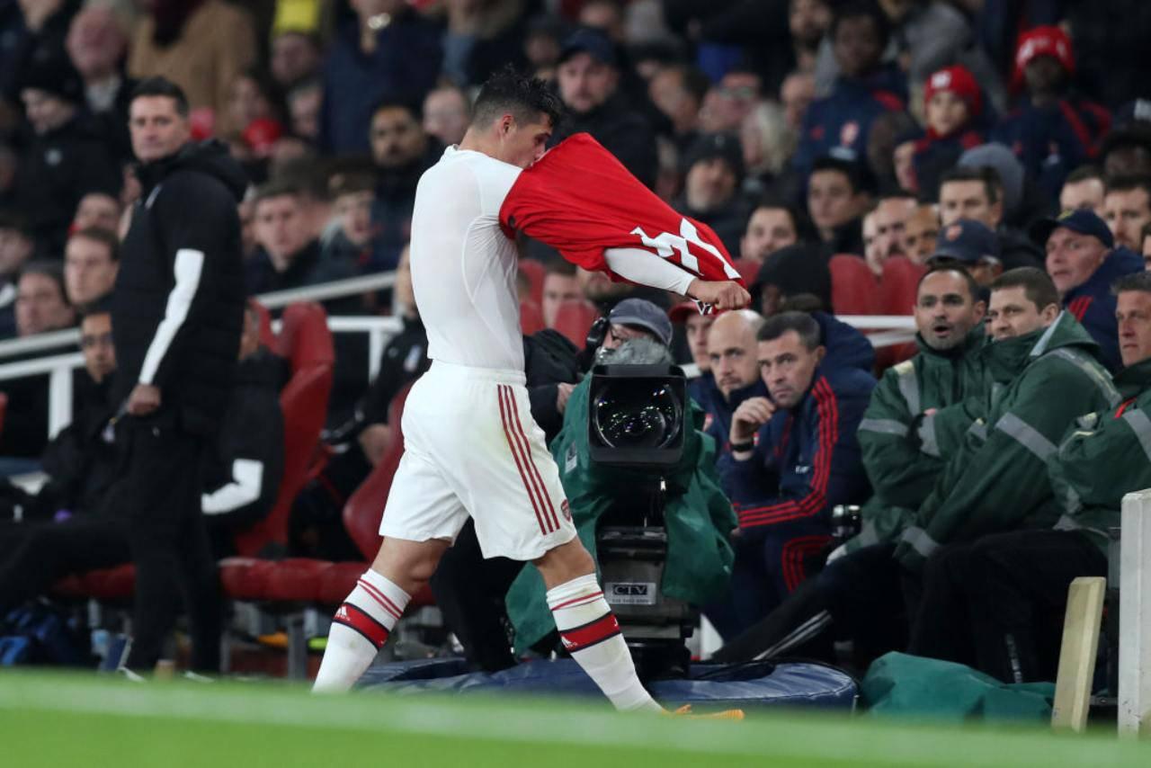 Xhaka Arsenal