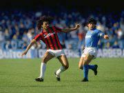 Gullit e Maradona Milan-Napoli