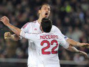 Antonio Nocerino e Zlatan Ibrahimovic Milan
