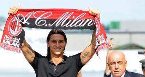 Zlatan Ibrahimovic Adriano Galliani