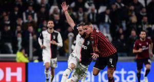 Ismael Bennacer in Juventus-Milan
