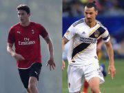 Mattia Caldara Zlatan Ibrahimovic