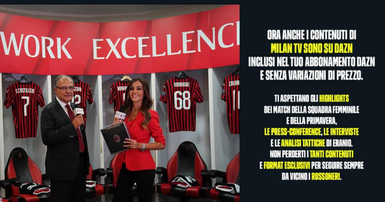 Milan TV su DAZN