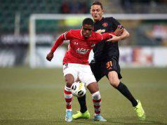 Myron Boadu Nemanja Matic AZ Alkmaar Manchester United