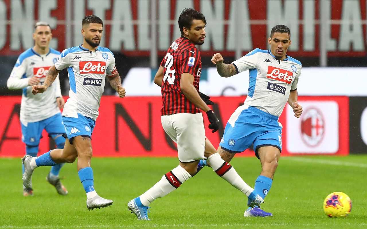 Lucas Paqueta Allan Milan Napoli