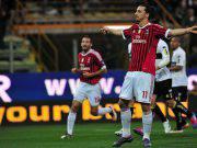Parma Milan Ibrahimovic