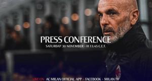 conferenza Pioli