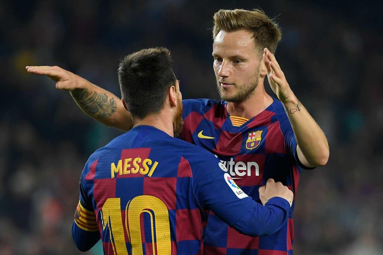 Ivan Rakitic Lionel Messi