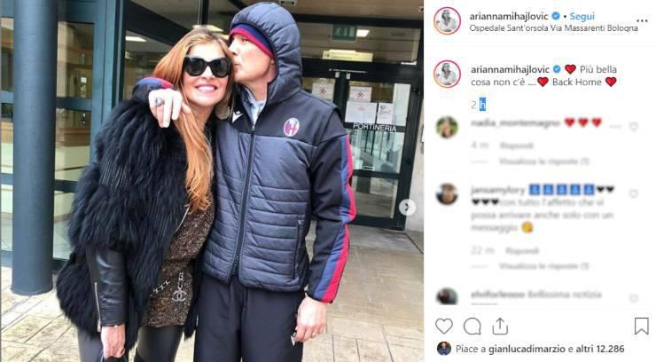 Sinisa Mihajlovic moglie Arianna