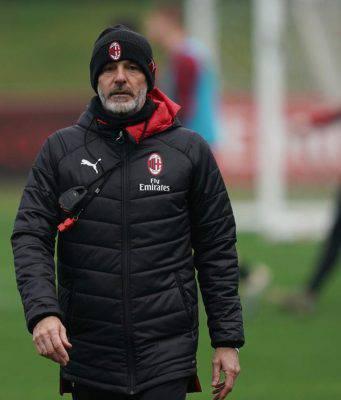 Stefano Pioli Milanello