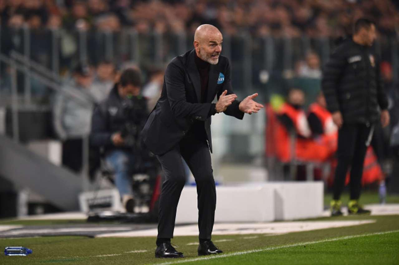 stefano Pioli Juve-Milan