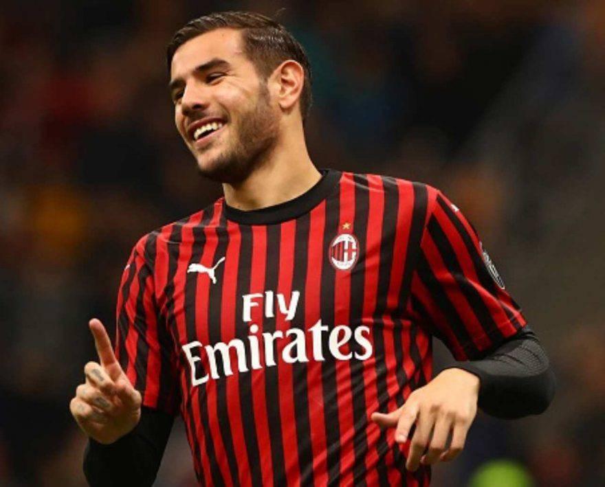 Theo Hernandez Milan-SPAL