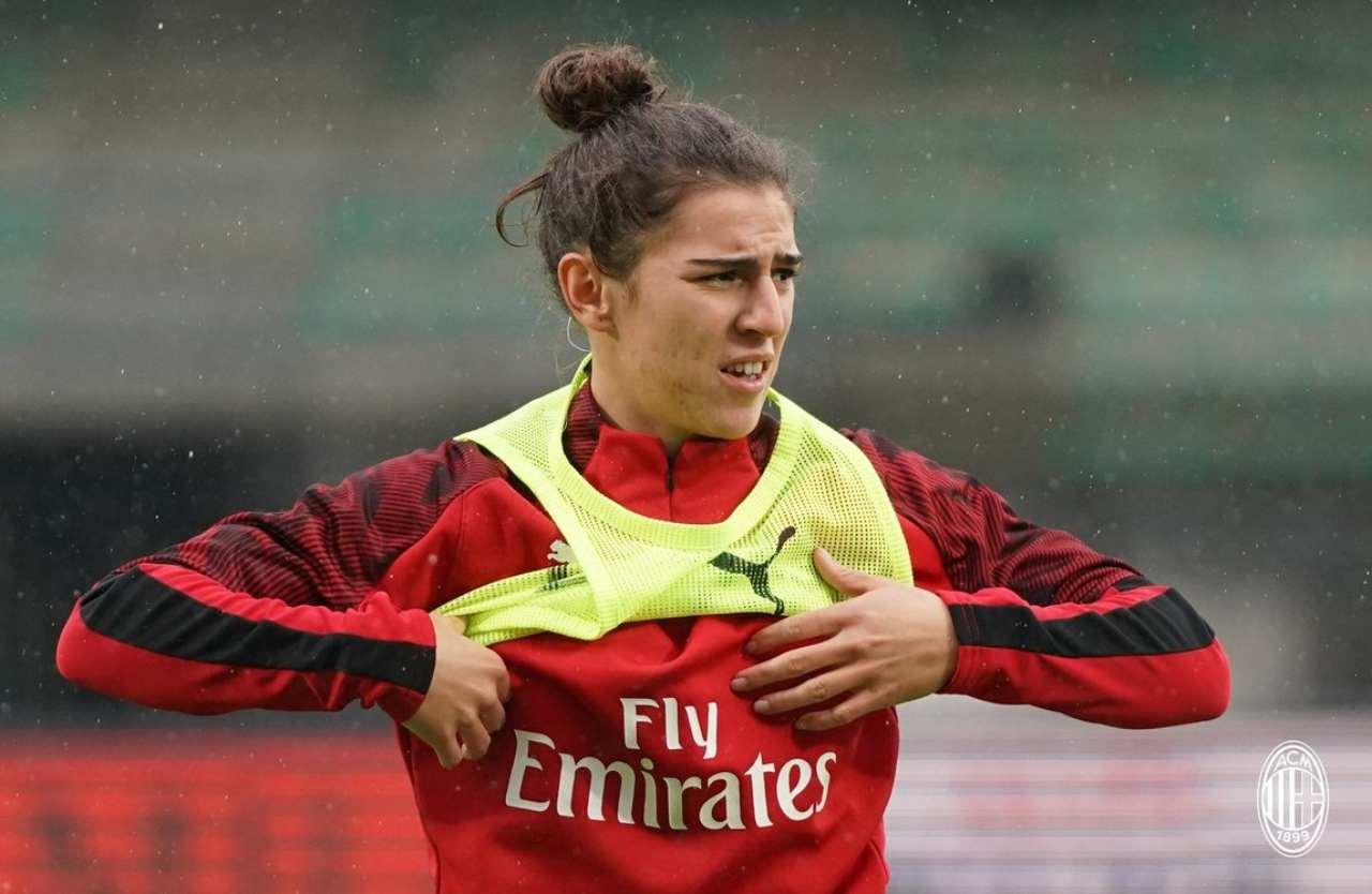 Valentina Bergamaschi Milan femminile