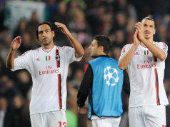 Alessandro Nesta Zlatan Ibrahimovic