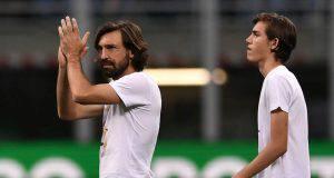 Andrea Pirlo e suo figlio Nicolò
