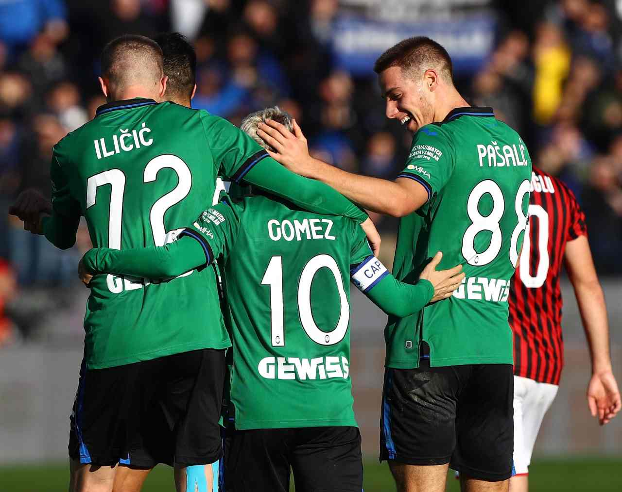 Ilicic Gomez Pasalic Atalanta-Milan
