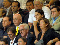 Berlusconi Ibrahimovic Galliani Raiola