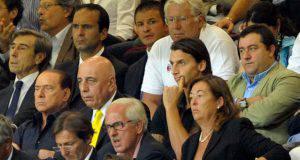 Berlusconi Ibrahimovic Galliani Raiola