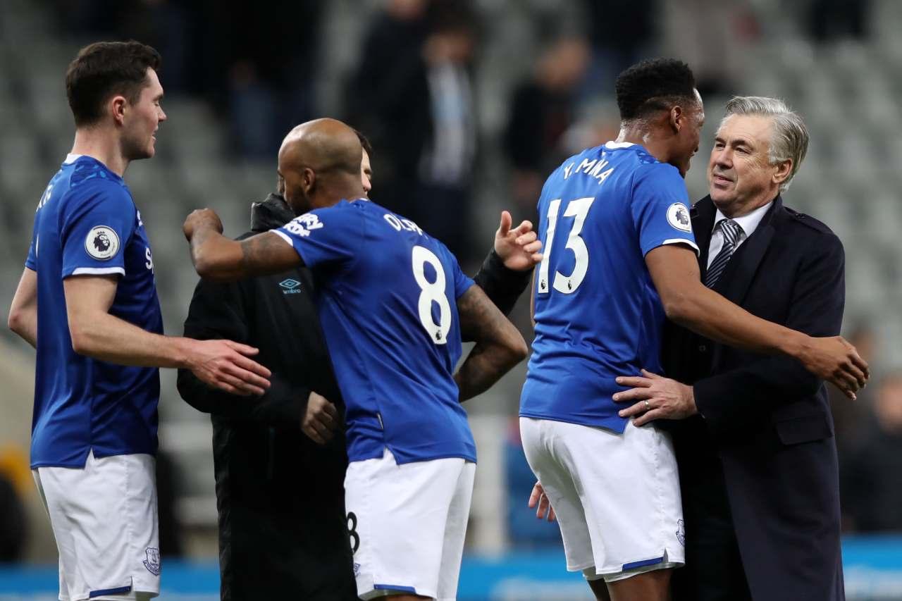 Everton, Ancelotti esulta: 'Doppiamente felice, qui c'è grande voglia di lavorare! Calvert-Lewin...'