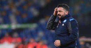 Gattuso Milan conferenza stampa Napoli